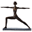 Statuette Yoga 14X12