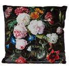 Coussin fleurs 18X18