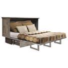 Cabinet lit avec matelas Grand