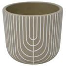 Vase Latina gris