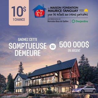 Billet Maison Fondation Maurice Tanguay Novoclimat 2021