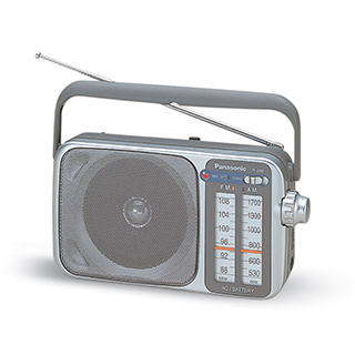 Radio portatif AM/FM