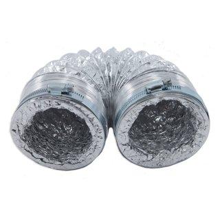 Tuyau de sécheuse 8 pi avec 2 collets
