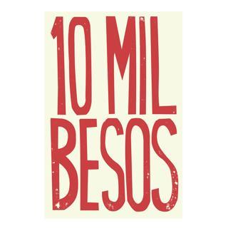 Toile 10 mil besos