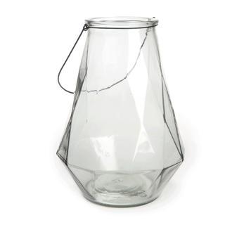 Lanterne en verre clair - grande