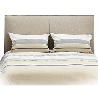 Tête de lit Queen rembourrée