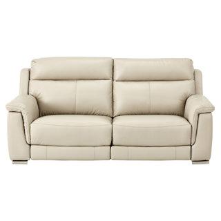 Sofa inclinable en cuir motorisé