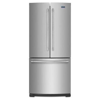 Réfrigérateur à double porte 19.6 pi3