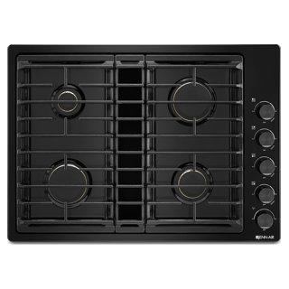 Plaque de cuisson au gaz avec ventilation intégrée 30 po