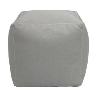 Pouf Kapan gris pâle
