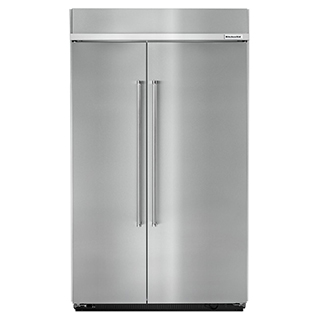 Réfrigérateur encastré côte à côte de 30 pi.cu.