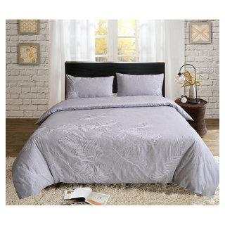 Housse et couvre-oreillers grand lit