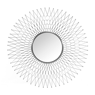 Miroir mural 44.9 X 5.9 X 44.9