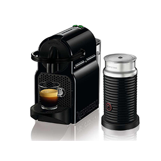 Machine à café Nespresso Inissia avec mousseur