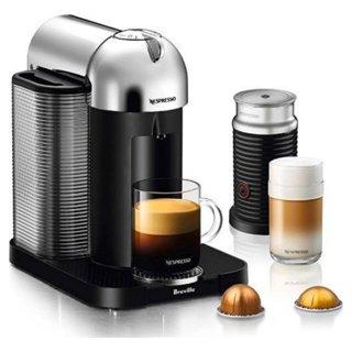 Machine à café Vertuo de Nespresso-Chrome - Boîte ouverte