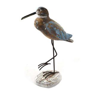 Oiseau sur tige bois 8X3X11.5