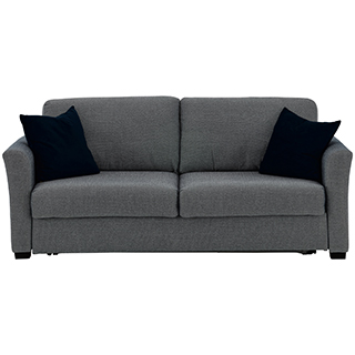 Sofa-lit en tissu matelas grand lit