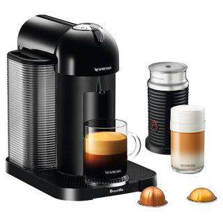 Machine à café Nespresso Vertuo à tête ronde avec mousseur A