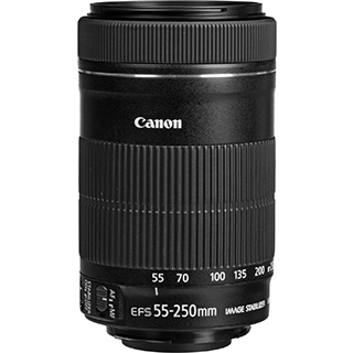 Objectif photo EF-S 55-250MM