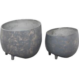 Cache-pot extérieur ensemble de 2