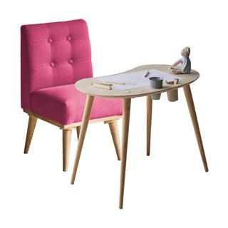 Ensemble table pour enfants en bois et chaise rembourrée