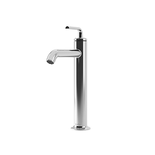 Robinet de lavabo monotrou pour vasque Cité - Chrome