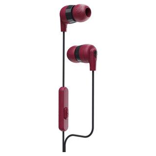 Écouteurs boutons avec fil Ink'd rouge