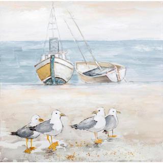 Canvas bord de mer
