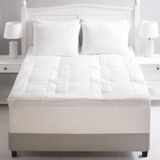 Plumard de luxe en duvet grand lit