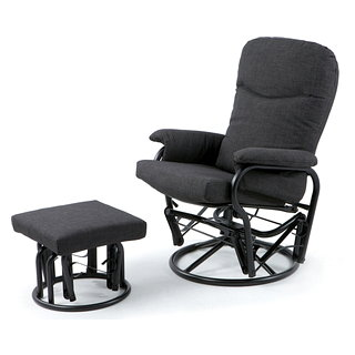Chaise avec tabouret