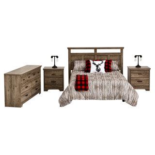 Mobilier de chambre à coucher double/grand lit 4 mcx