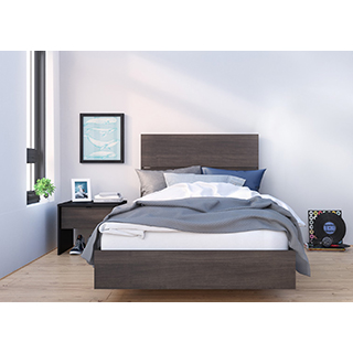 Chambre à coucher simple 3 pièces