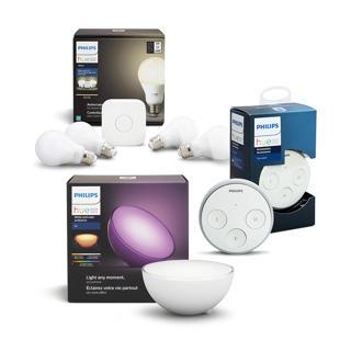 Ensemble ampoules,pont,interrupteur et lampe portable Go