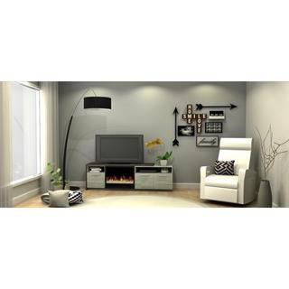 Meuble et foyer électrique