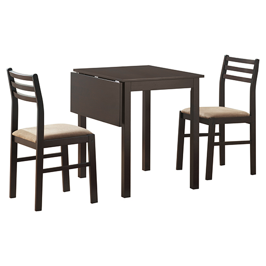 Table a panneau+2 chaises Monarch Specialities