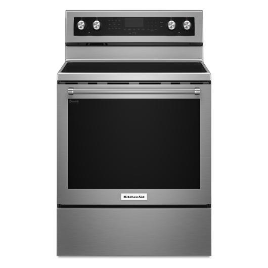 Cuisinière autonettoyante 30 po à vitrocéramique KitchenAid