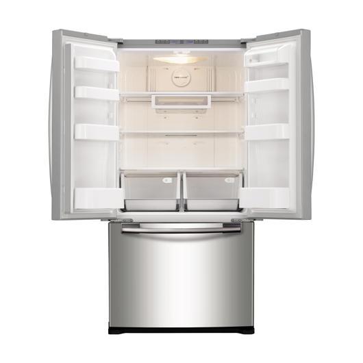 Réfrigérateur à double porte 17.5 pi3 Samsung