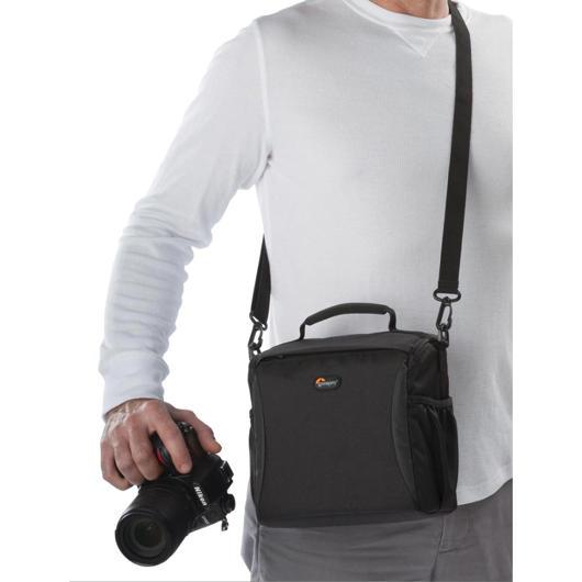 Sac à l'épaule pour caméra DSLR et 2 lentilles Lowepro