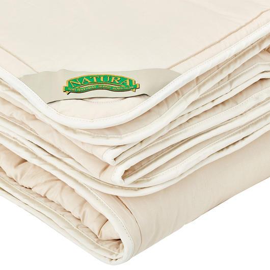 Couette fibre de laine très grand lit Natura
