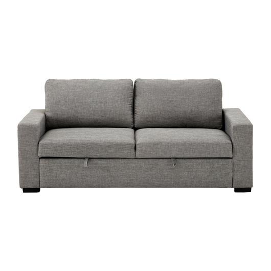 Sofa-lit en tissu matelas double