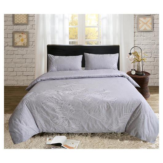 Housse et couvre-oreillers grand lit Patlin