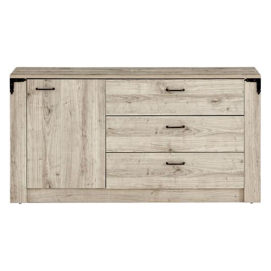 Bureau 3 tiroirs 1 porte EK Design