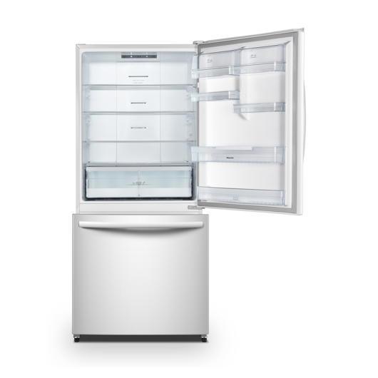 Réfrigérateur congélateur en bas 17 pi3 Hisense