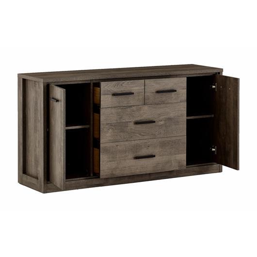 Bureau 3 tiroirs, 2 portes Meubles Concordia