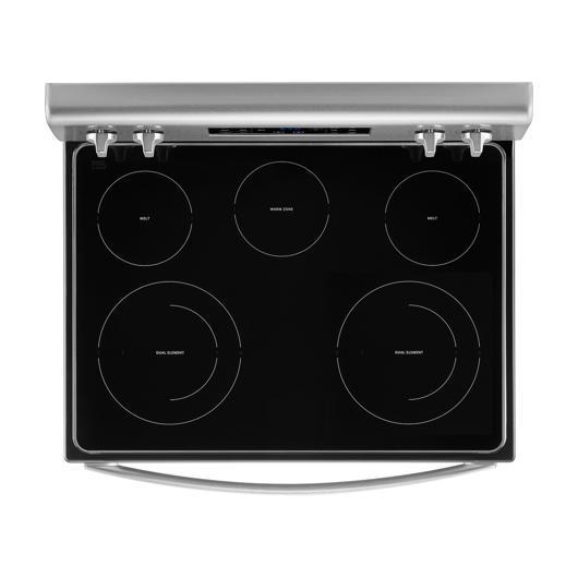 Cuisinière autonettoyante 30 po à vitrocéramique Whirlpool