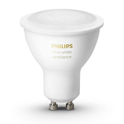 Ensemble de 2 ampoules GU10 Hue Philips Philips