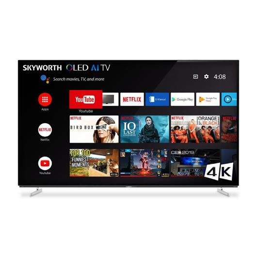 Téléviseur OLED 4K écran 65 po Skyworth
