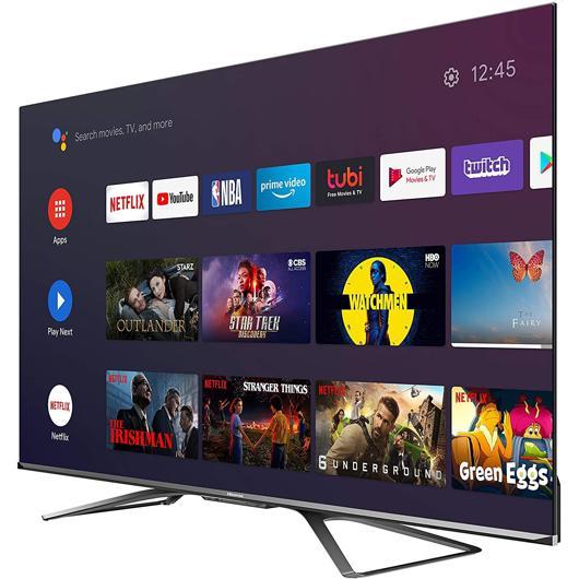 Téléviseur QLED 4K écran 55 po Hisense