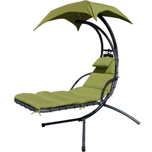 Chaise longue parasol Dura