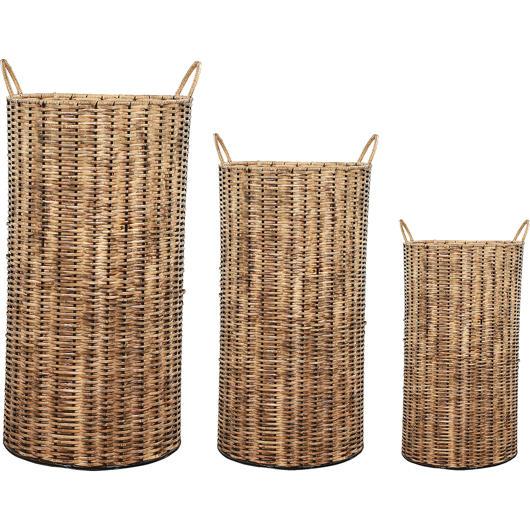 Cache-pot extérieur ensemble de 3 Renwil